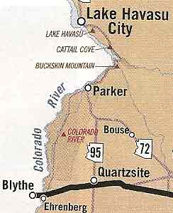 Bouse is in the middle of La Paz County in the Sonoran Desert of Arizona.
